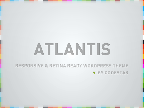 Atlantis - Multi Purpose Corporate WP Theme