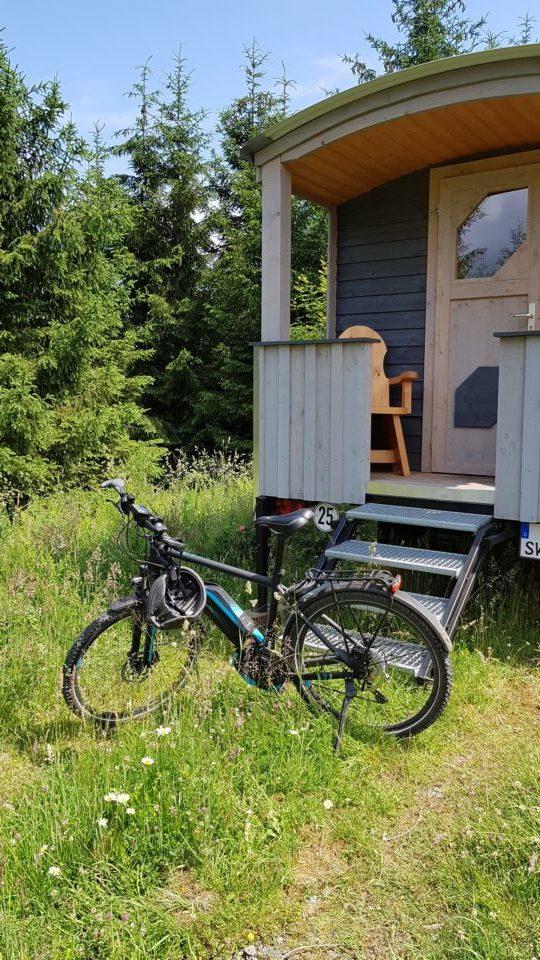 E-Bike Tour zum Schäferwagen